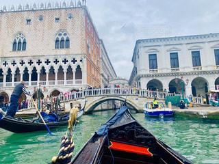 ヴェネツィアのゴンドラの写真・画像素材[2280154]