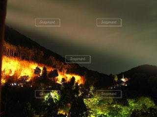 清水寺のライトアップの写真・画像素材[2282083]