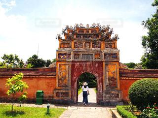 ベトナムのフエにある王宮跡地の写真・画像素材[2289057]