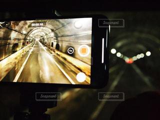 トンネル撮影の写真・画像素材[2289067]
