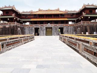 ベトナムのフエにある王宮跡地の写真・画像素材[2289103]
