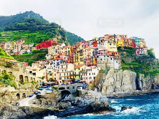 イタリアの港町の写真・画像素材[2289199]