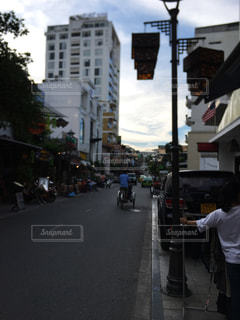 ベトナムの街並みの写真・画像素材[2289368]