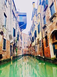 ヴェネツィア 水没した町の写真・画像素材[2289375]
