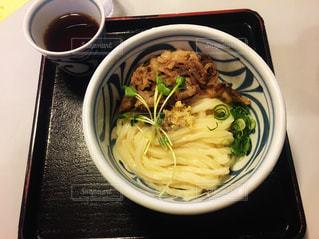 四国で食べた肉うどんが美味しかったの写真・画像素材[2290157]