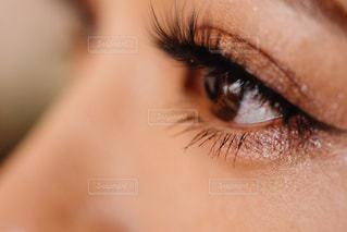 目のクローズアップの写真・画像素材[2290204]