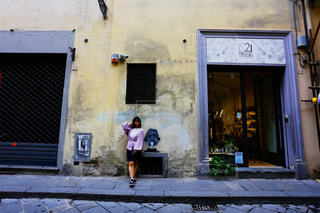 フィレンツェ散歩の写真・画像素材[2290213]