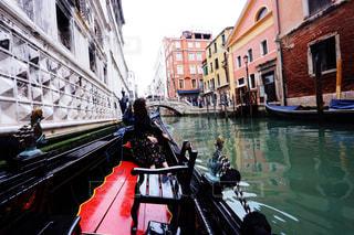 ヴェネツィアのゴンドラの写真・画像素材[2301800]