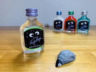 パリピ酒に酔うペンギンの写真・画像素材[2320203]