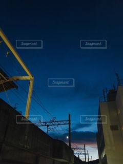 日没風景の写真・画像素材[2409983]