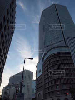 大阪のオフィス街の写真・画像素材[2409994]