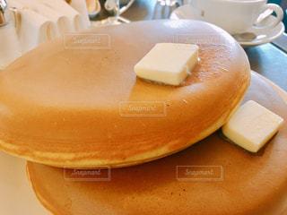 大っきなパンケーキの写真・画像素材[2028625]