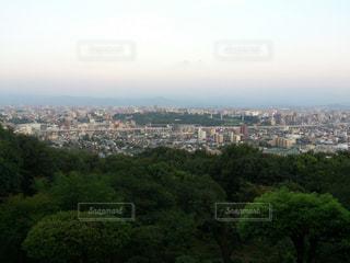 高台からの眺めの写真・画像素材[1960507]