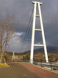九重夢大吊橋の写真・画像素材[1972781]