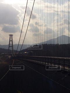 九重夢大吊橋の写真・画像素材[1972782]