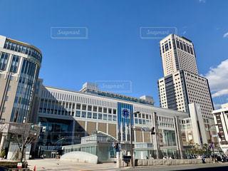 札幌駅南口JRタワーの写真・画像素材[2020371]