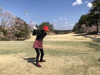 ゴルフ日和の写真・画像素材[2045536]