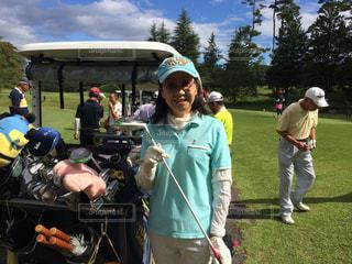 楽しいゴルフコンペの写真・画像素材[2045891]
