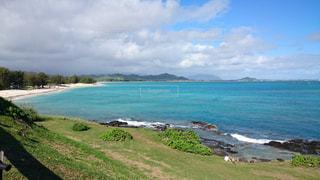 ハワイで一番綺麗ビーチの写真・画像素材[2049400]