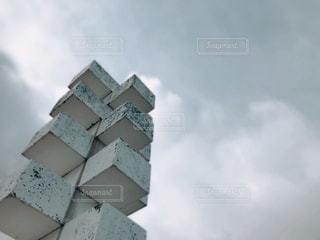 白いオブジェの写真・画像素材[2997469]