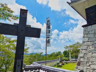 茶臼山城 岡山の写真・画像素材[1984364]