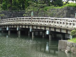 江戸城跡の橋の写真・画像素材[1986381]