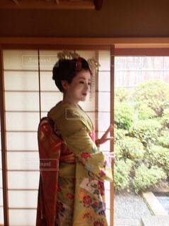 京の舞妓さんの写真・画像素材[2007356]