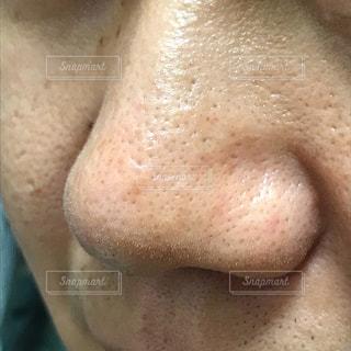鼻のアップの写真・画像素材[2375609]