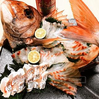 真鯛の姿造りの写真・画像素材[1975178]