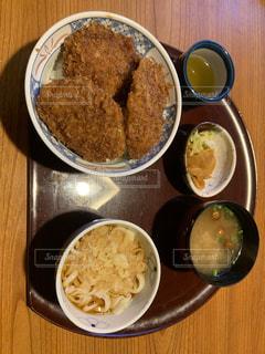 ソースカツ丼の写真・画像素材[2009269]