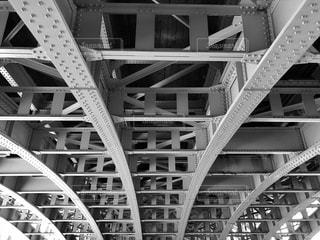 鉄橋の写真・画像素材[2257666]