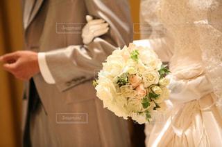 ウェディングドレスの写真・画像素材[159857]