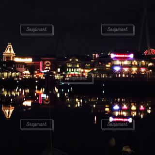 反転する夜景✨の写真・画像素材[2003210]