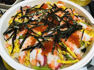 ちらし寿司を作りました❗️の写真・画像素材[2032362]