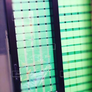 ガラス窓の暴風対策の写真・画像素材[2738775]