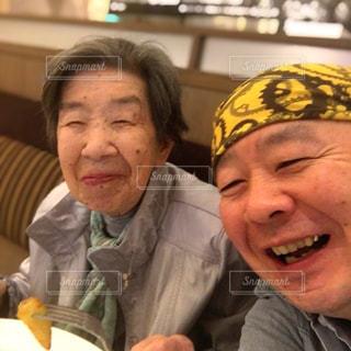 母と食事の写真・画像素材[2757230]