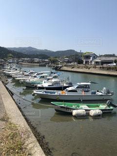 漁港のボートの写真・画像素材[1978165]