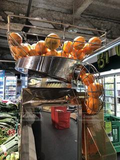 スーパーのオレンジの写真・画像素材[1984305]