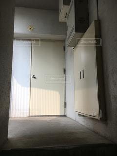 非常口ドアの写真・画像素材[1980128]