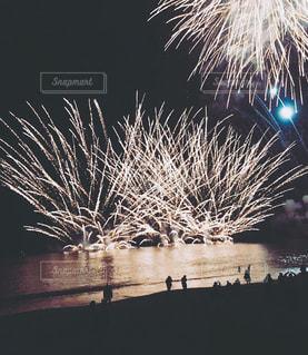 湘南二宮町の花火ですの写真・画像素材[1997573]