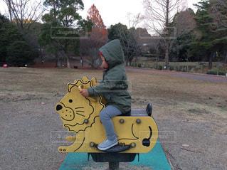 ちびっこスピーダーバイクの写真・画像素材[1991299]
