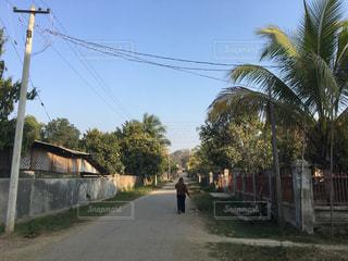 ミャンマーの田舎の風景1の写真・画像素材[1985720]