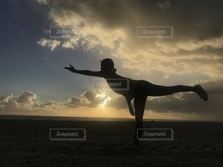 太陽礼拝🌞🧘♀️の写真・画像素材[2009949]