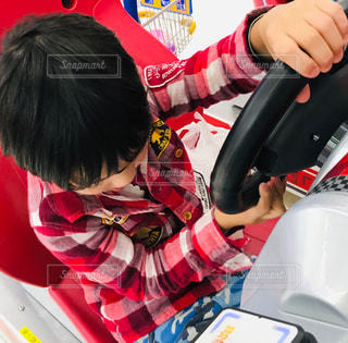 カーゲームを運転の写真・画像素材[2098250]