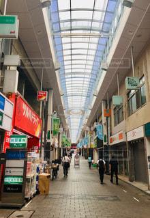 高円寺パル商店街のアーケードの写真・画像素材[2263191]