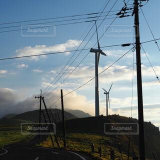 風車の写真・画像素材[1996228]