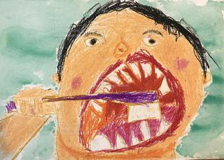 歯を磨こうの写真・画像素材[2014214]
