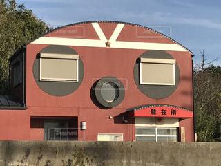 日間賀島の派出所の写真・画像素材[2035031]