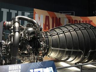 スペースシャトルのエンジンの写真・画像素材[2090028]