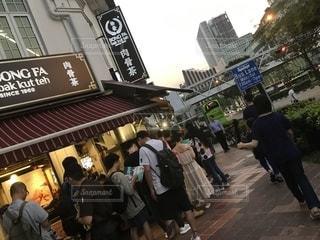 シンガポールで人気のバクテーの店の写真・画像素材[2316107]